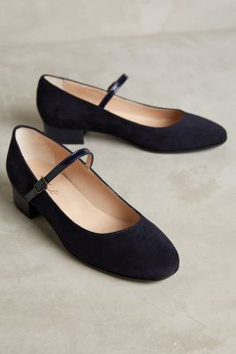 Miss Albright Block Heel Mary Janes