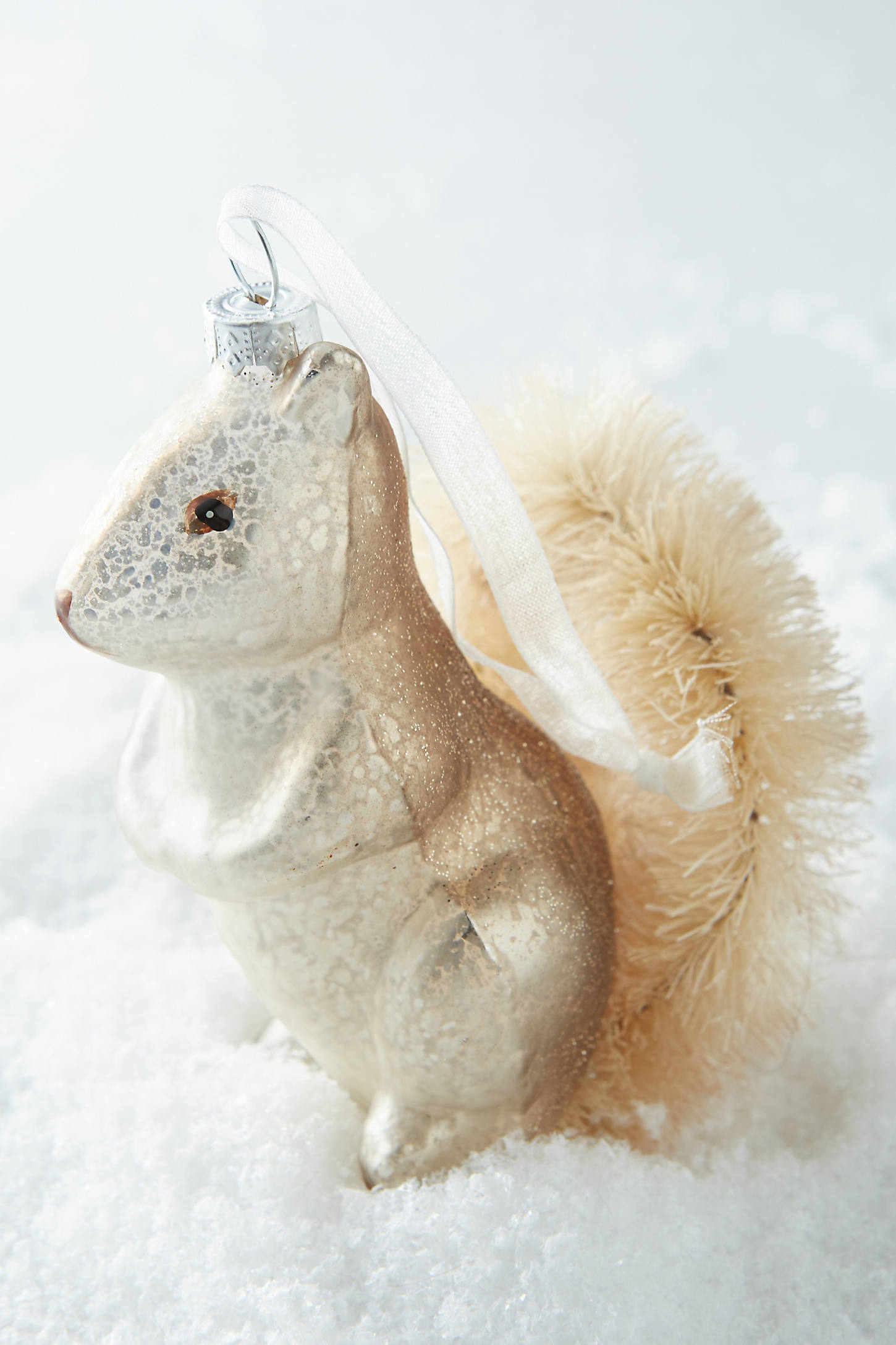Sisal-Tailed Squirrel Ornament