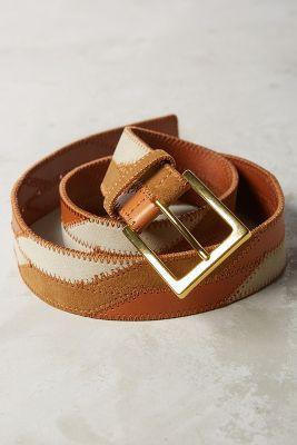 Rosa Patchwork Belt