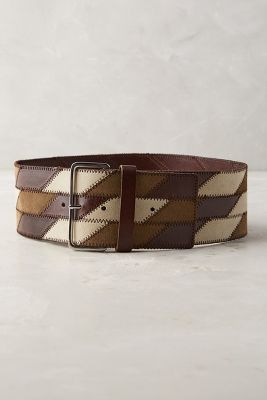 Ellie Patchwork Belt