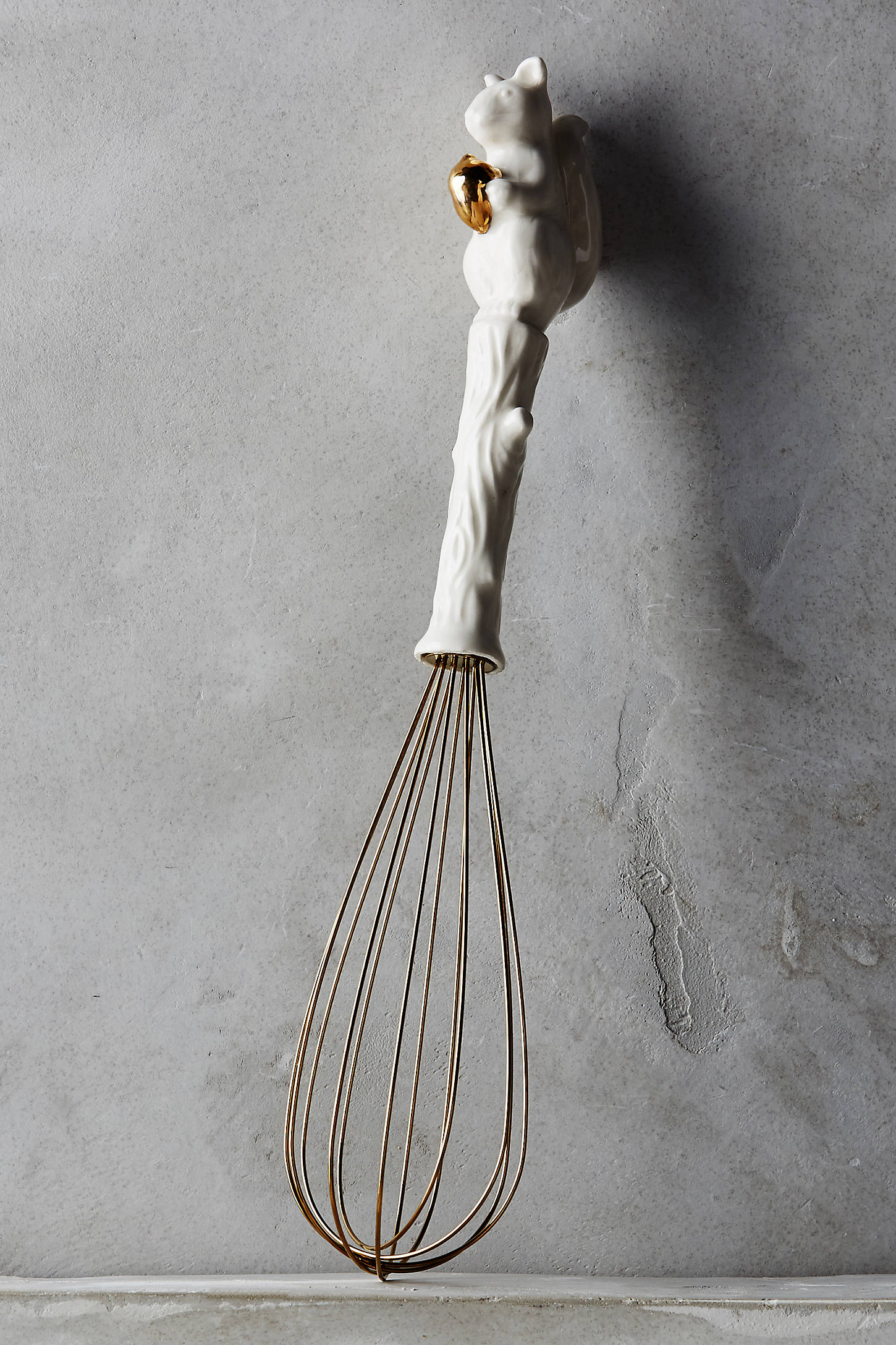 Ceramic Squirrel Whisk
