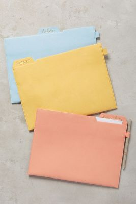 Someday Soon File Folder Set