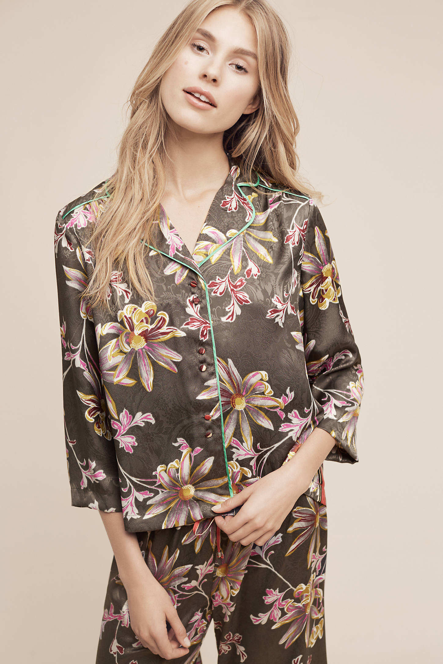 Juniper Floral Pyjama Top