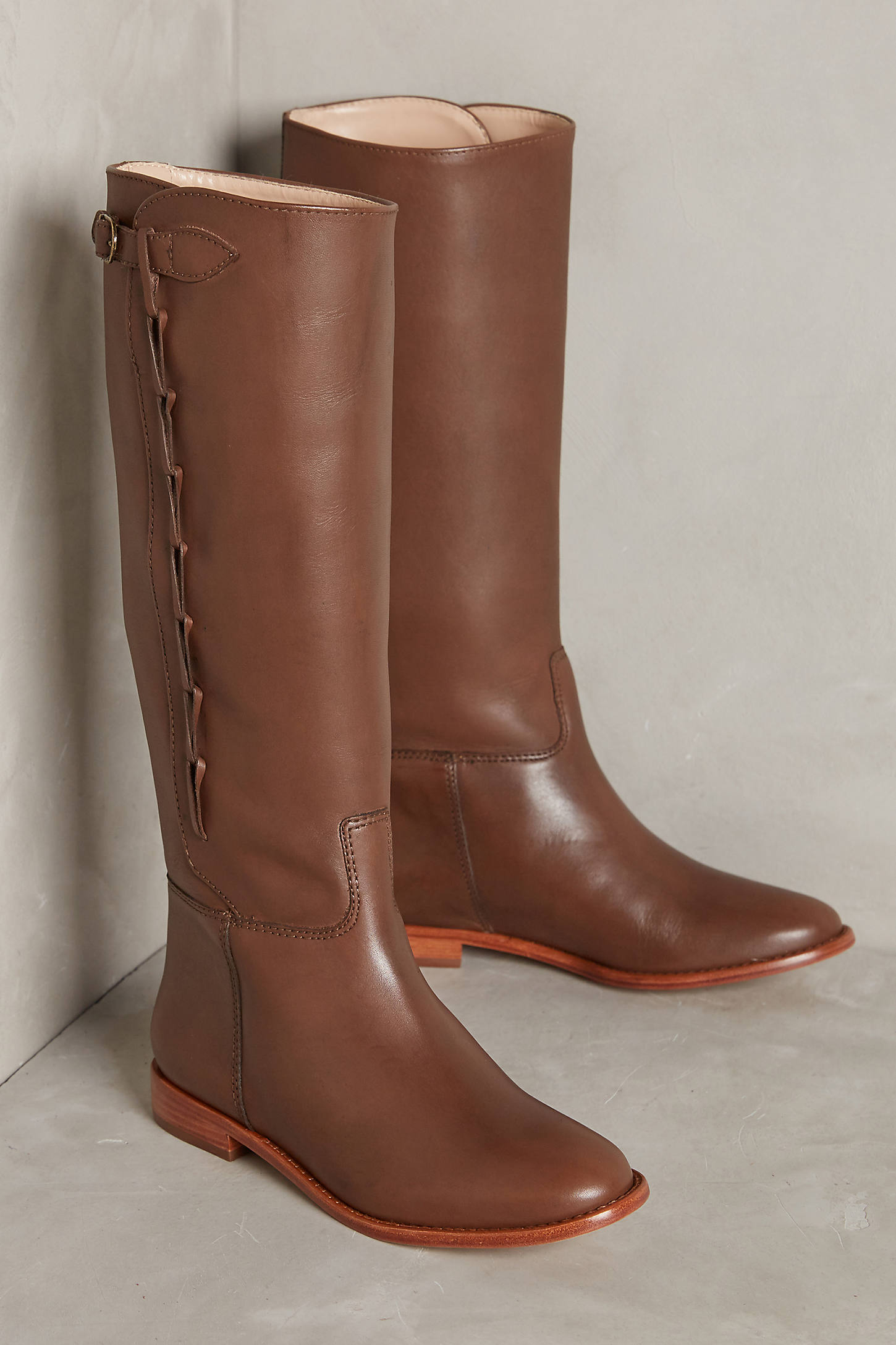 Candela Side-Looped Riding Boots