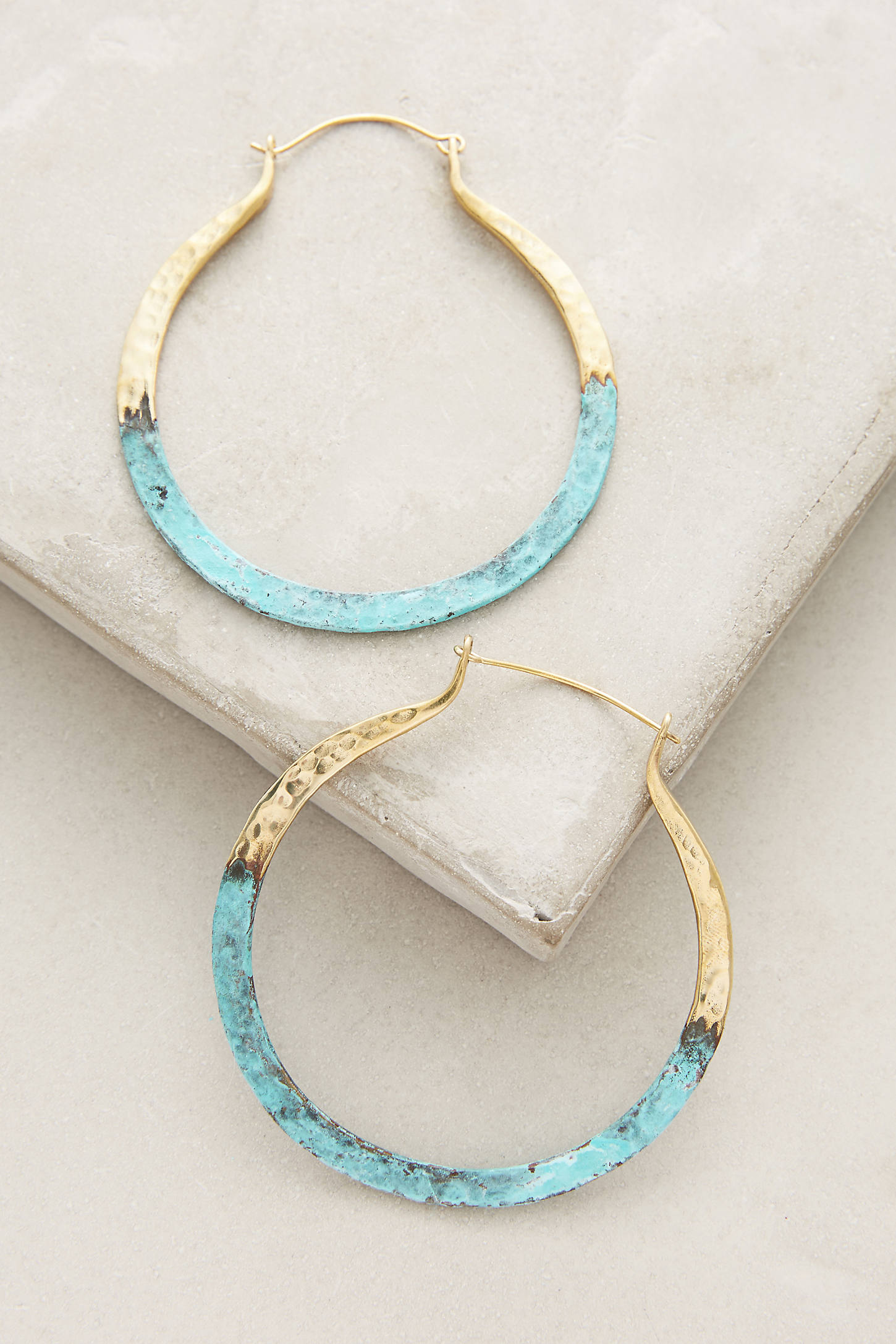 Terre Hoop Earrings