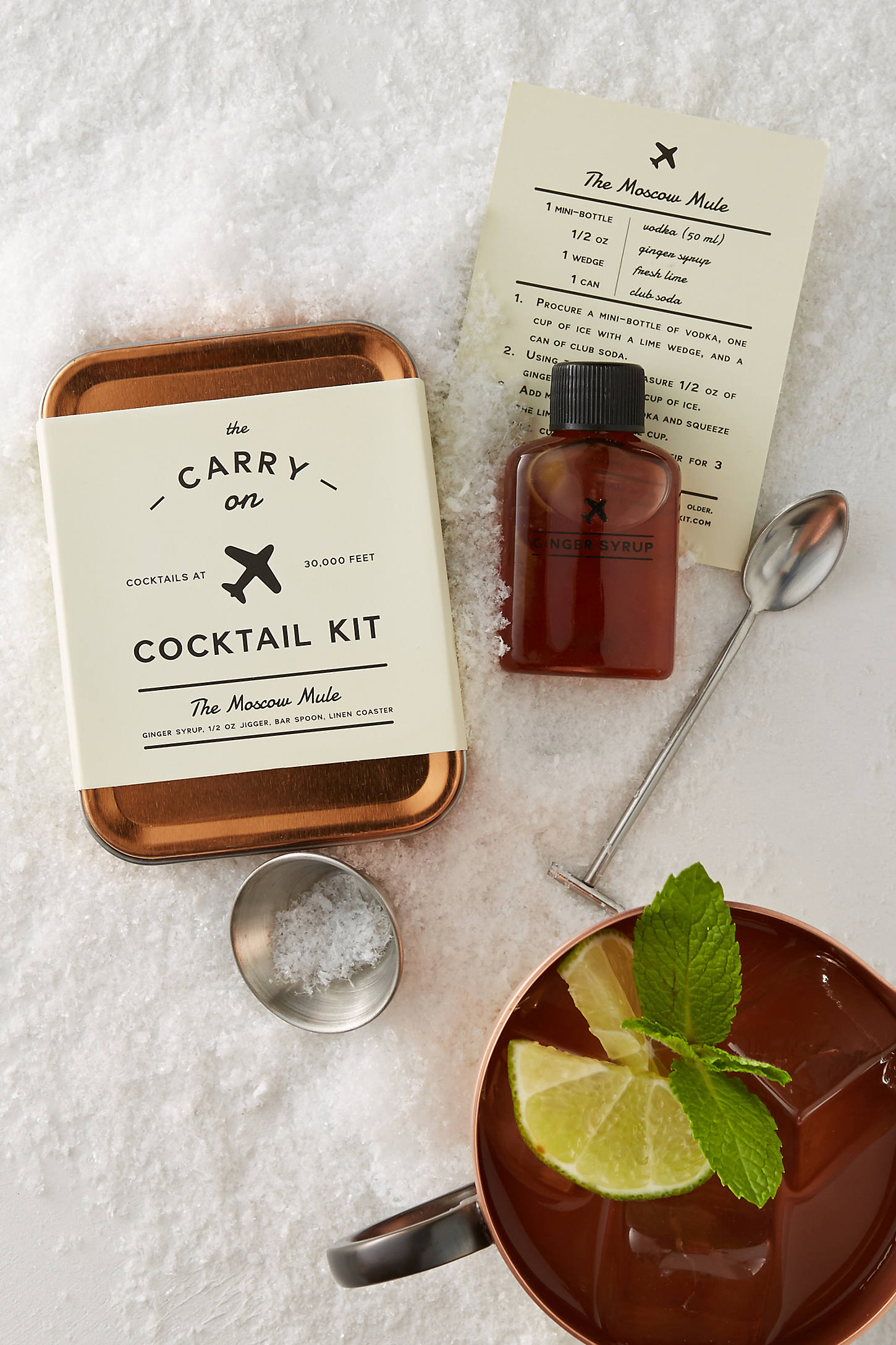 The Carry On Cocktail Kit: Moscow Mule