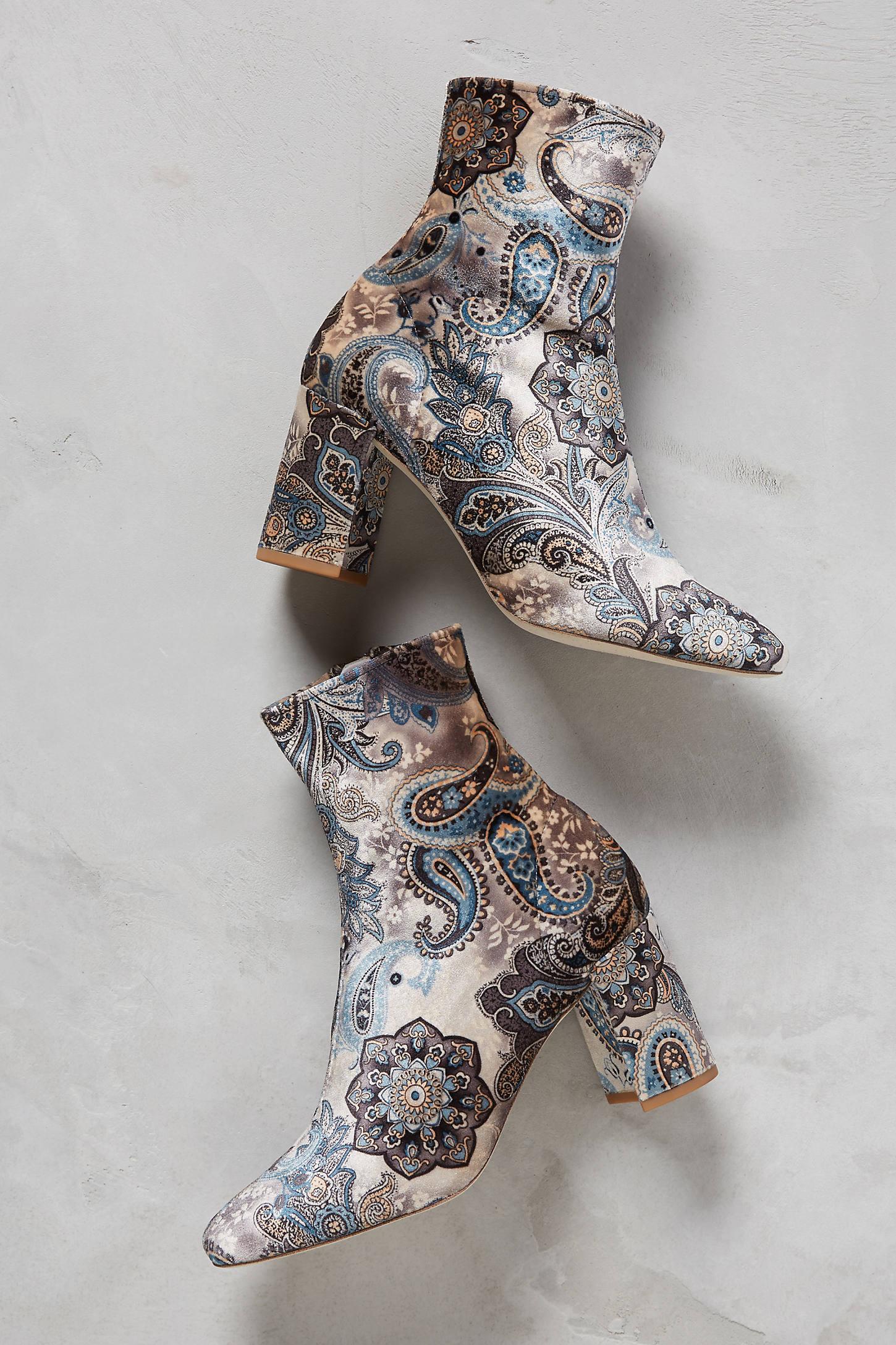 Jeffrey Campbell Cenga Velvet Boots