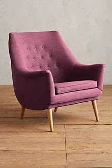 Basketweave Linen Rivona Chair