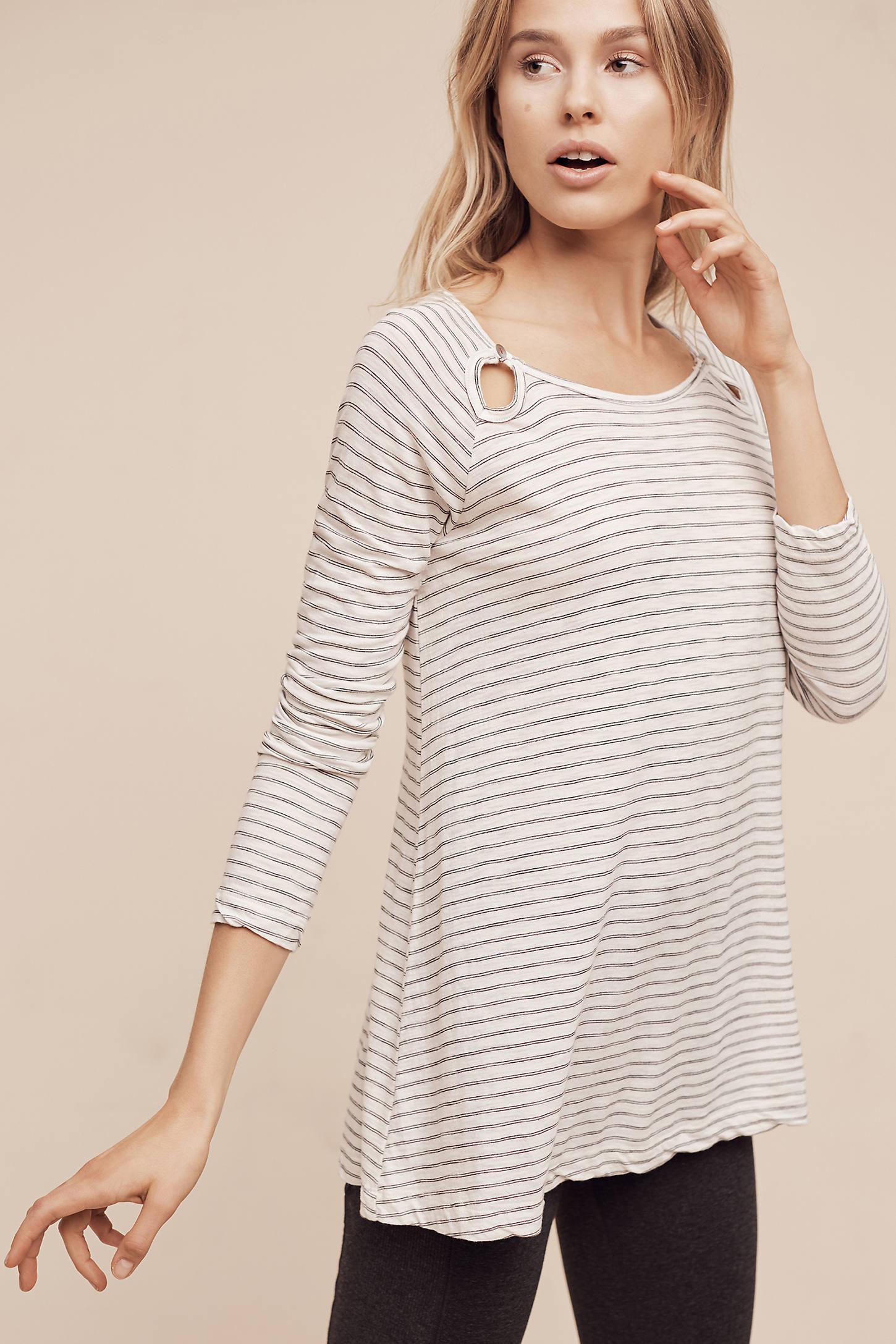 Montel Striped Pullover