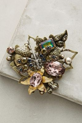 Persephone Flower Pin