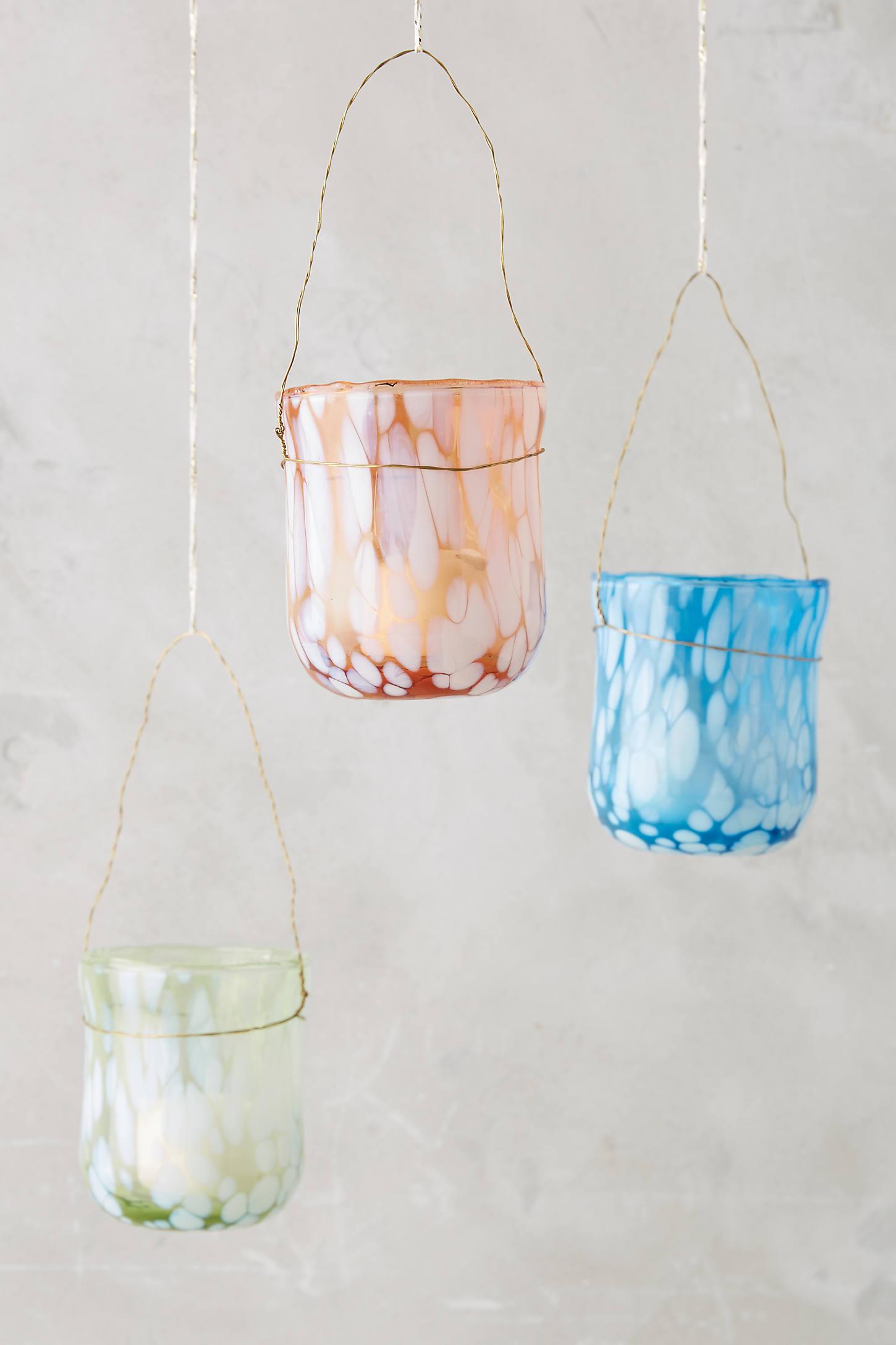Confetti Glass Votive Set