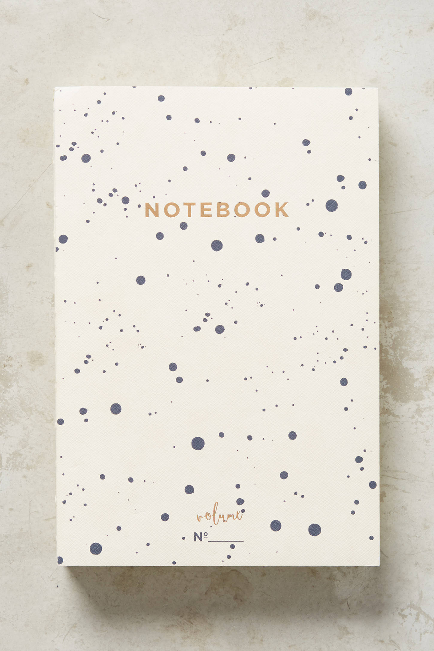 Splattered Notebook