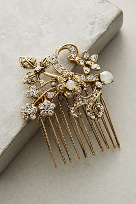 Golden Garland Comb