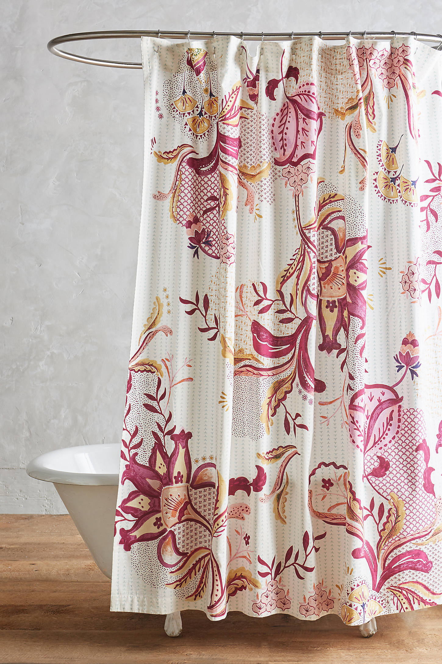 Rosaflora Shower Curtain