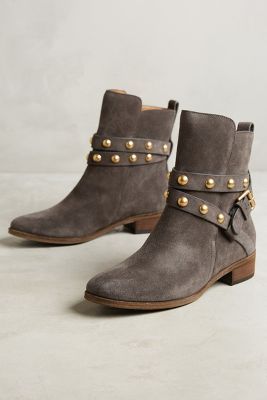 See by Chloe Studded Harness Ankle Boots