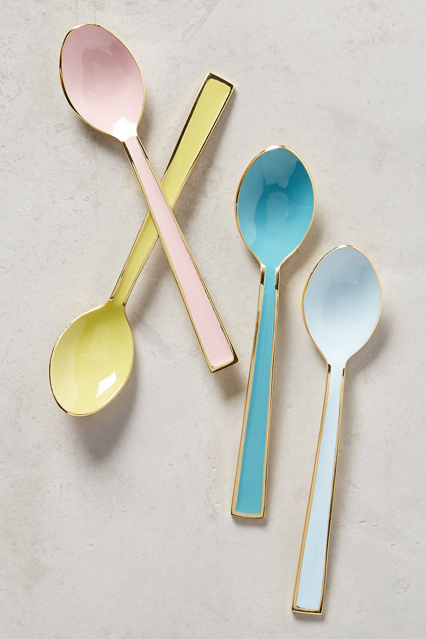 Pastel Palette Cheese Knives