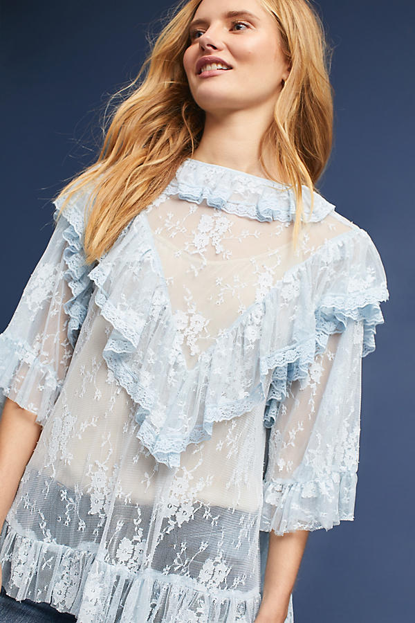 Korovilas Lace Blouse