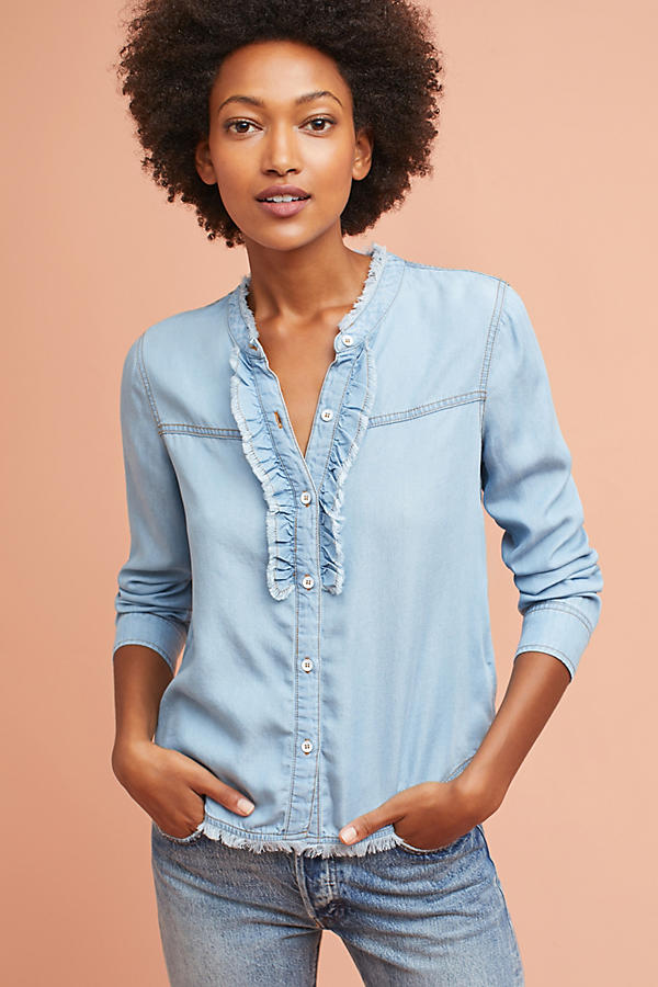 Splendid Chambray Buttondown