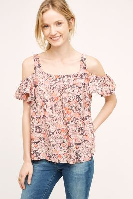 Hana Open-Shoulder Top