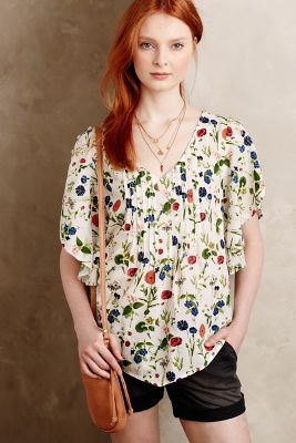 Fluttered Maya Blouse