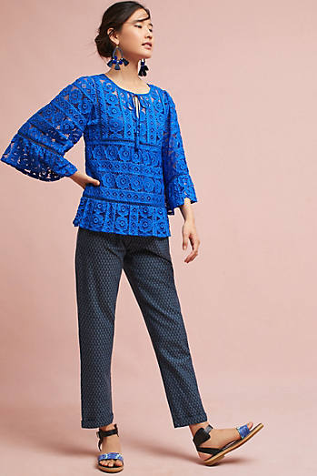 Tracy Reese Tie-Neck Blouse