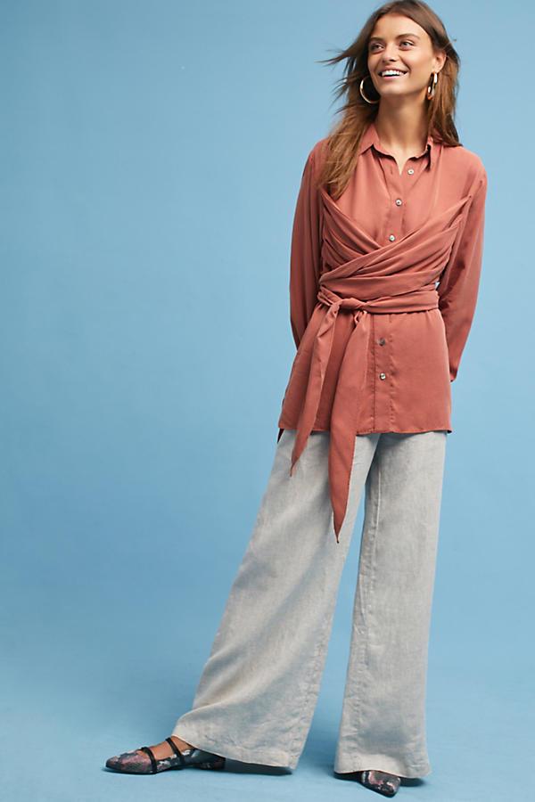 Mara Hoffman Aubryn Wrap Shirt