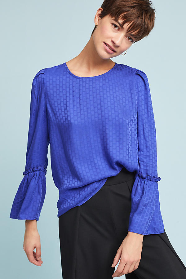 Bryson Textured Blouse
