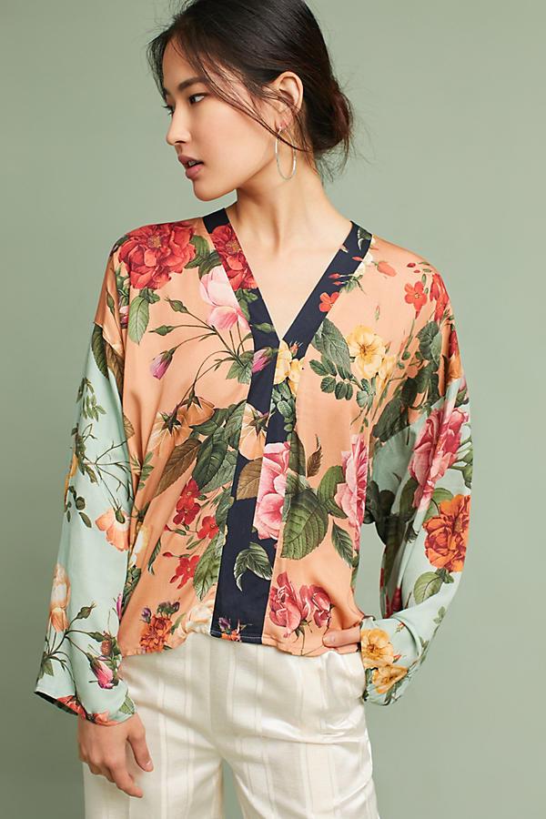 Farm Rio Floral Kimono Top