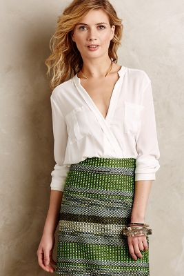 Eva Wrap Blouse