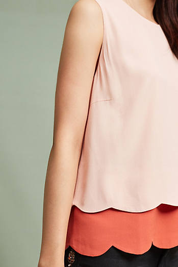 Scalloped & Layered Tank