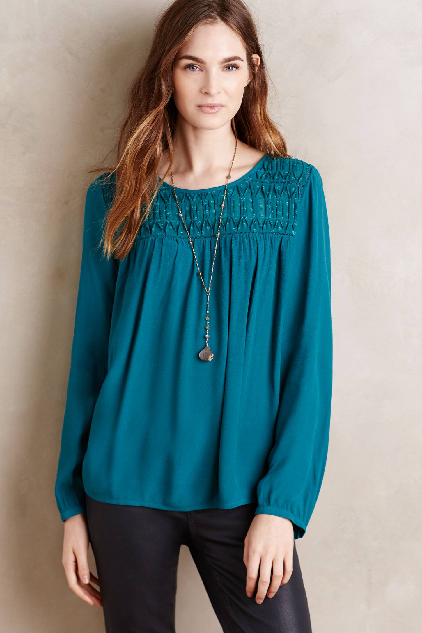 Laurel Smock Blouse