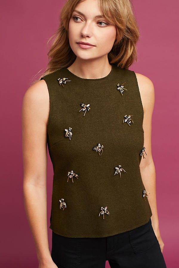 Bee Embellished Top