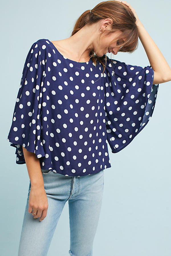 Tia Printed Blouse