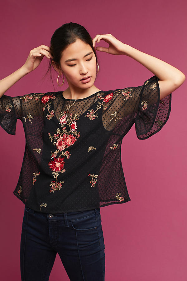 Embroidered Cadiz Top