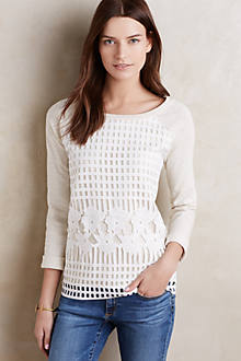Garden Lace Pullover