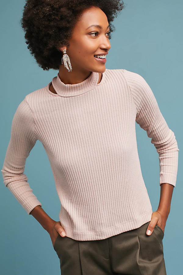 Splendid Split Turtleneck