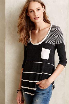 Stripe-Range Pullover