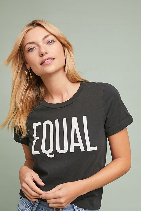 d870a6594 Sol Angeles Equal Graphic Tee Anthropologie | 2019 trends | xoosha