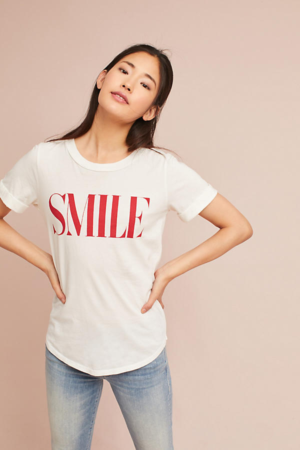 Sol Angeles Rolled-Cuff Graphic Tee