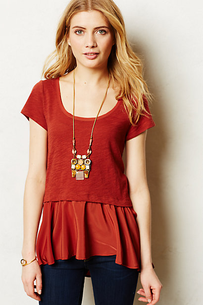 Sale alerts for Anthropologie West End Top - Covvet