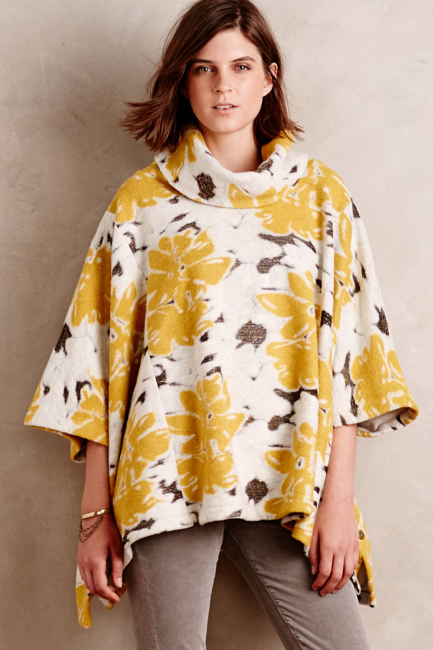 Sunblooms Poncho
