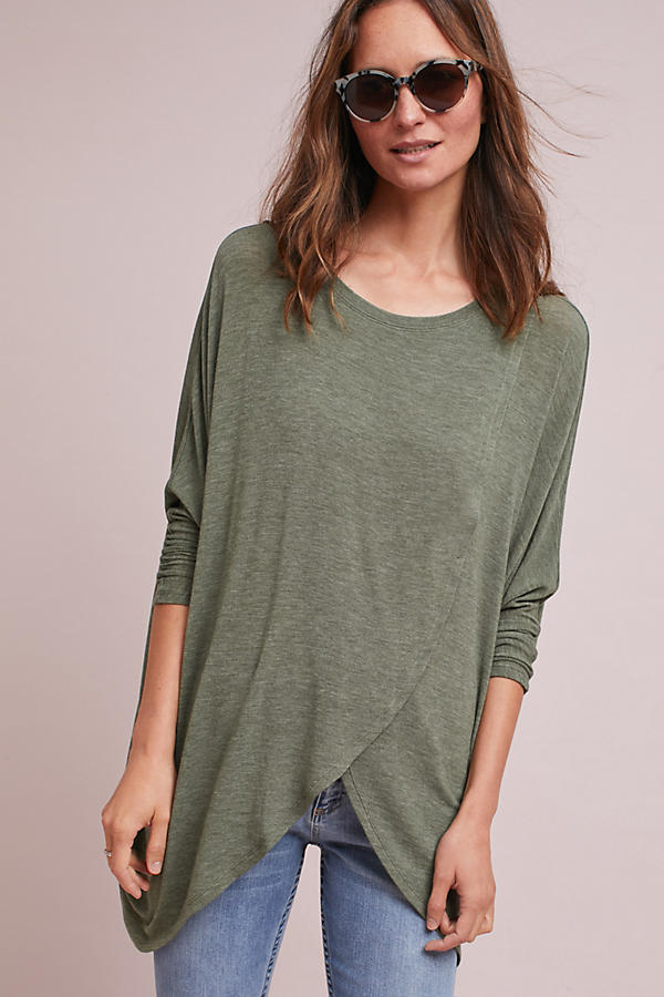 Oversized Crossover Top