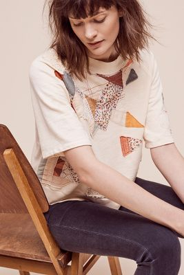 Cropped Quilter Pullover