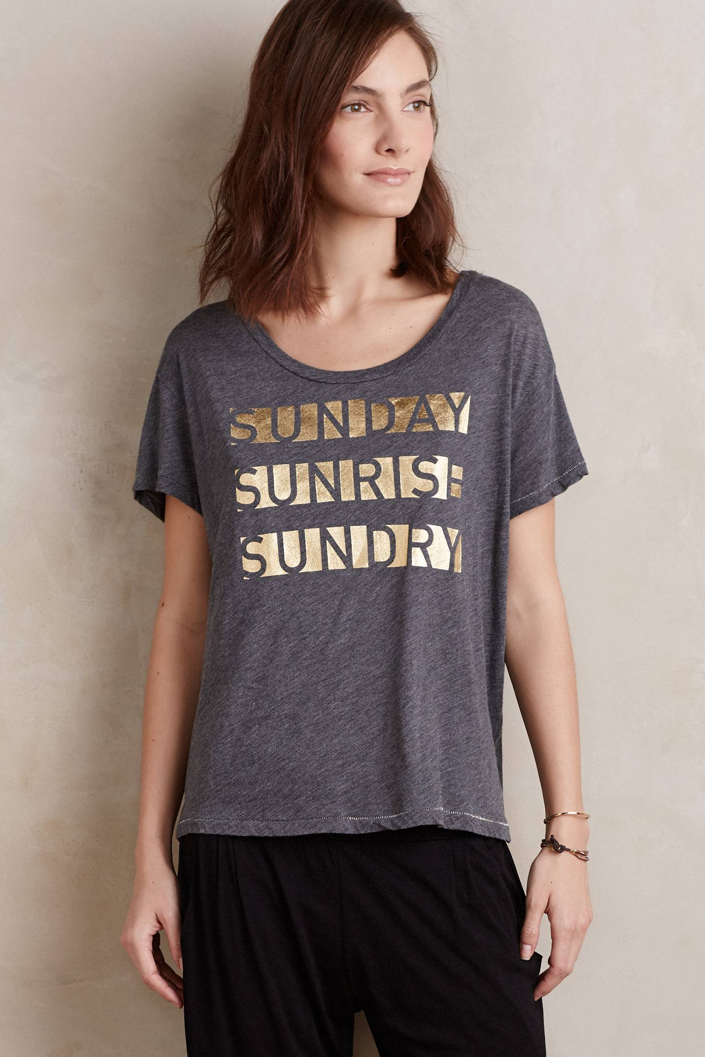Sunday Sunrise Tee