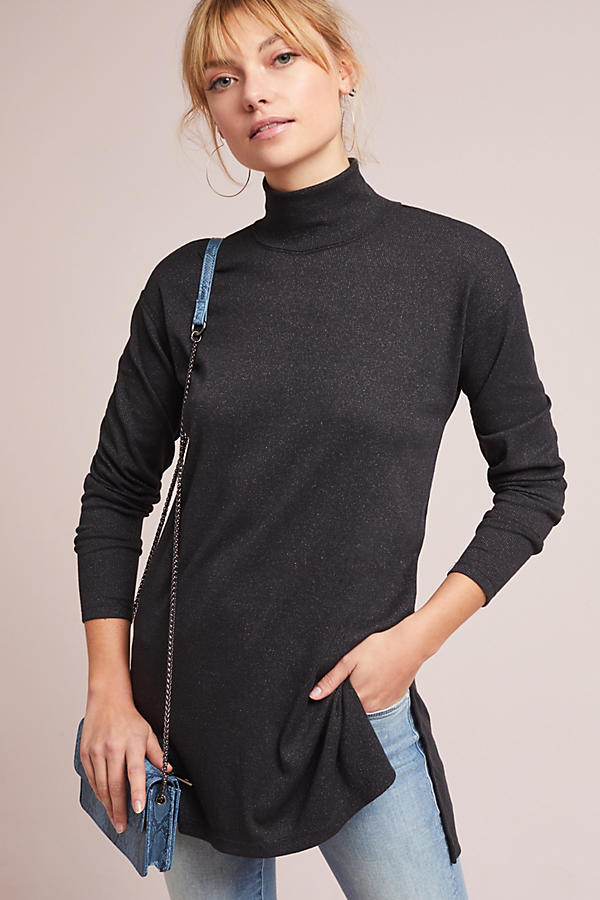 Shining Turtleneck Tunic