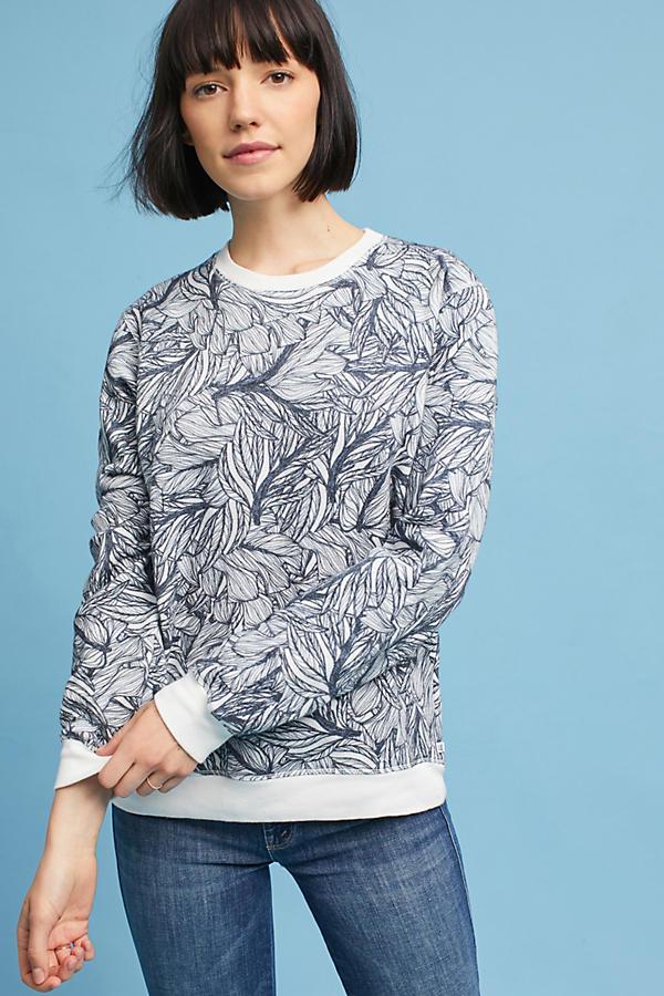 Luxe Printed Sweatshirt
