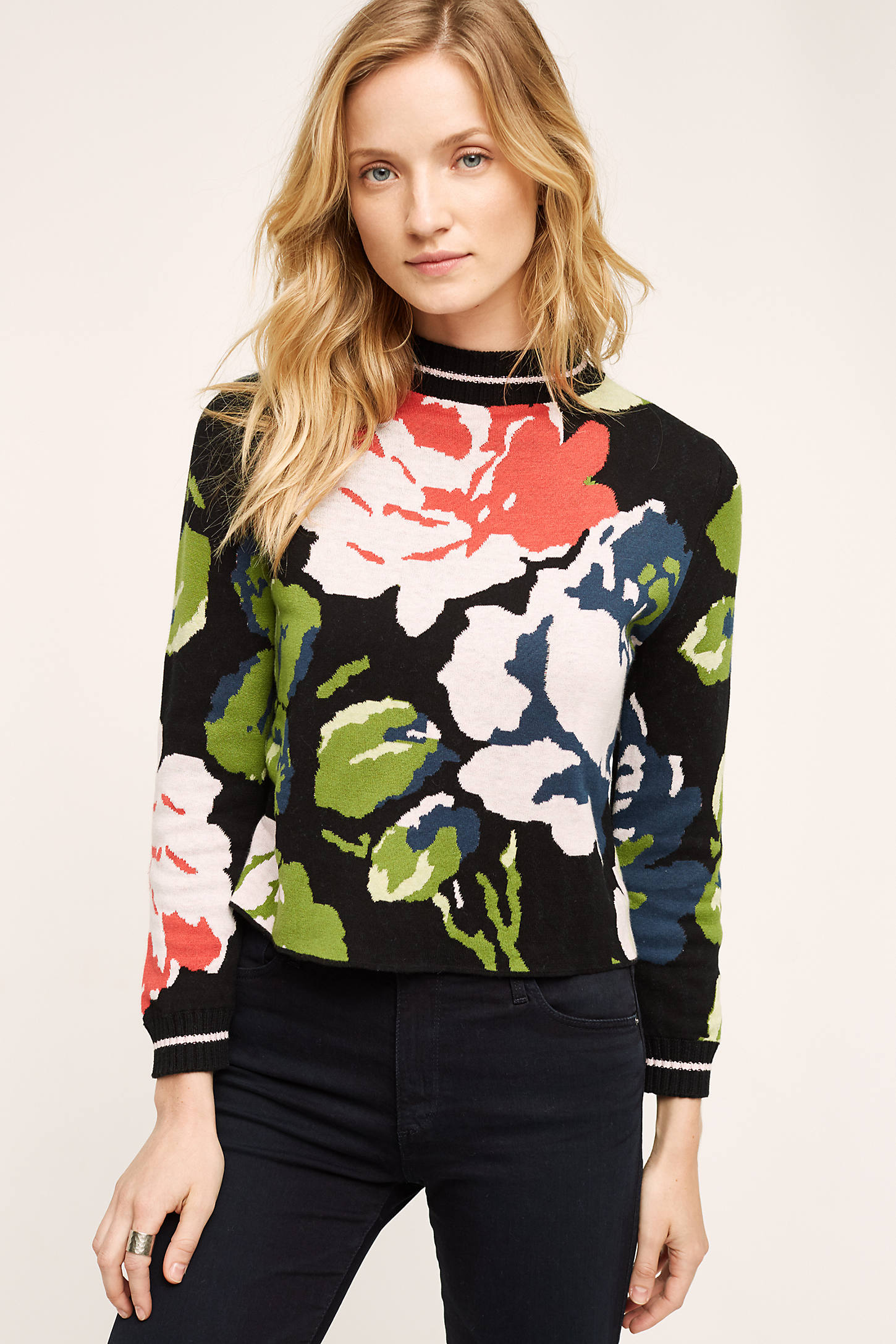 Laine Floral Pullover