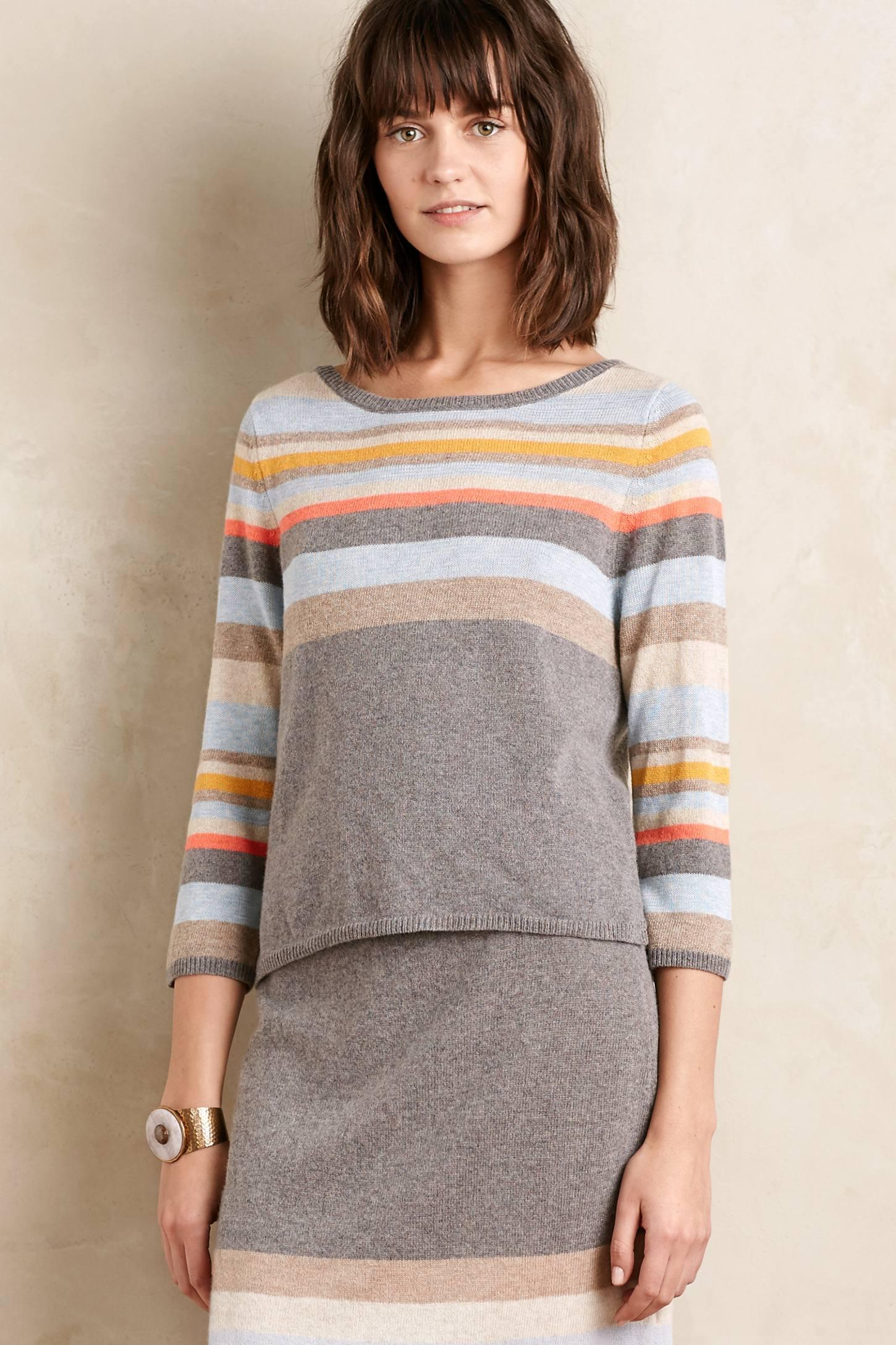 Striped Midi Pullover