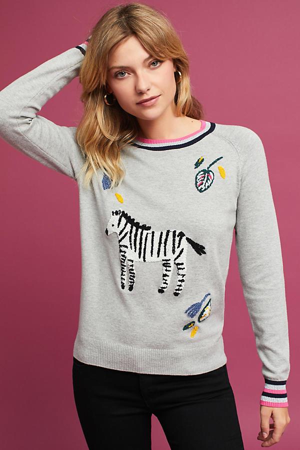 Zebra Pullover