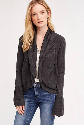 Scalloped Cardigan